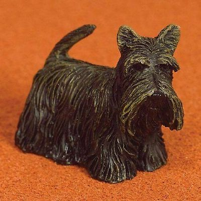 "Dolls House 1/12 Scale Scottish Terrier ""scottie"" Dog"