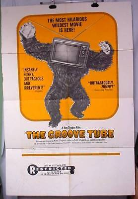 Original Movie Poster THE GROOVE TUBE 1974 Chevy Chase by Ken Shapiro