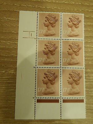 X953  17.5 Harrison  Print Pcp  In Cyl Blk Of 6     1 No  Dot Unm