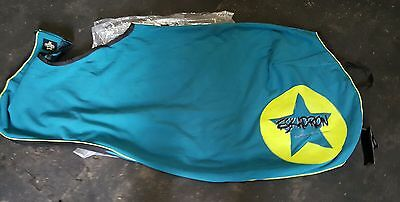 Eskadron Next Generation Fleece Exercise Rug. Cyan and lime. XL brand new