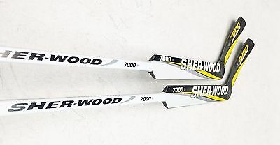 "Sher-Wood 7000 Sr. Goal Stick 25"" 2 Pack NHL FREE SHIPPING"