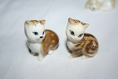 VINTAGE SZEILER Pair of  Cats  China ornaments.