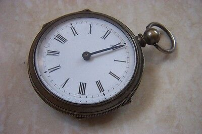 A VINTAGE FRENCH MADE POCKET PEDOMETER c. 1900