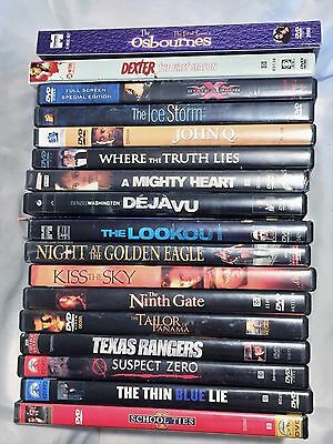 LOT 18 DVD's Movies TV Series Action Adventure Sci-Fi