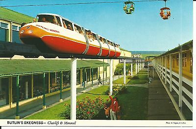Butlins Skegness The Chairlift & Monorail John Hinde Ltd 3Sk4 Pc