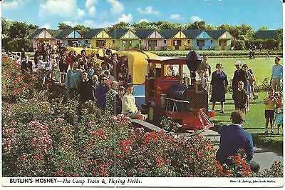 Butlins Mosney Ireland The Camp Train & Playing Fields John Hinde Ltd 3Mo7 Pc