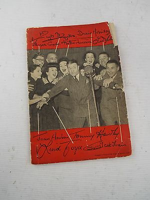 "Signed By TOMMY HANDLEY Script ""IT'S THAT MAN AGAIN"" And Alterations C1949 - S86"