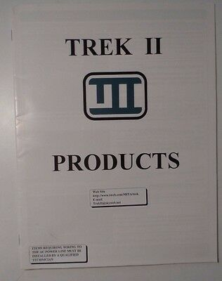 1987 Trek II Products Catalog - Hammond & Leslie Organ Replacement Parts