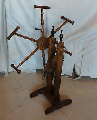 Victorian Antique wooden Wool Yarn Winder - Circa 1880's