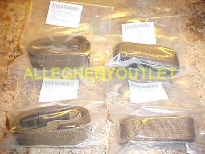 NEW Lot of 4 Molle Leg Lashing Pack Straps Coyote Cargo Alice Army USGI Bayonet