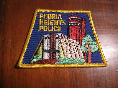 Peoria Heights Illinois Police Patch