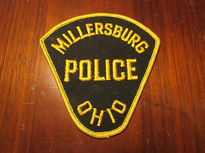 Millersburg Ohio Police Patch