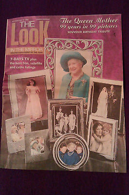 UK 'The Look' magazine 99th birthday souvenir edition Queen Mother