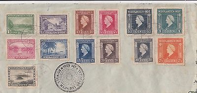 Stamps Netherland Indies on 1946 cover P.T.T postmark Margriet Hospital cachet