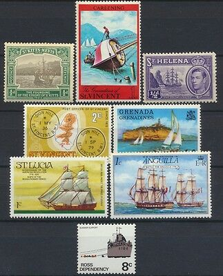 No: 48027 - BRITISH COMMONWEALTH -  LOT OF 8 STAMPS - x/xx!
