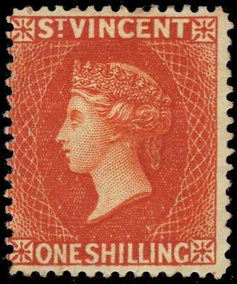 """ST. VINCENT 53 (SG58) - Queen Victoria """"1891 Printing"""" (pa48784)"""