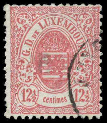 Luxembourg  Scott #35 Used Cats $27.50