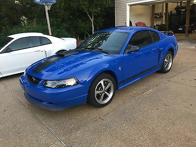 2003 Ford Mustang Mach 1 2003 Ford Mustang Mach 1 azure blue, manual