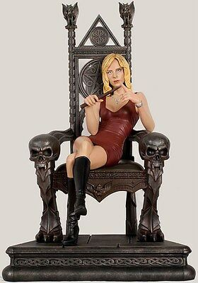 "Sideshow 17.5"" THRONE OF THE SLAYER BUFFY SUMMERS 200030 vampire ltd 750 NEW"