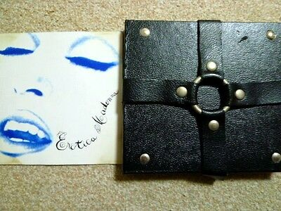 MADONNA - EROTICA : very rare limited edition Leather package CD :promo/SEX/1992