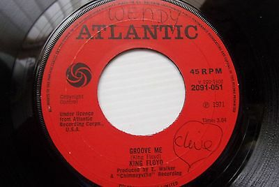 ATLANTIC SOUL  KING FLOYD WHAT OUR LOVE NEEDS c/w GROOVE ME   RED  ATLANTIC 1971