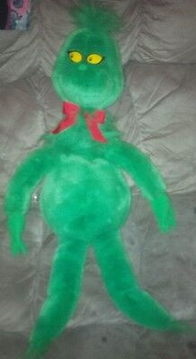 """1997 Macy's 27"""" How the Grinch Stole Christmas Plush Doll"""