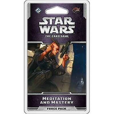 Star Wars The Card Game Mediation and Mastery Force Pack Brand New