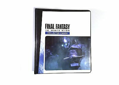 Final Fantasy The Spirits Within Collector Cards Binder Only Comic Images 2001