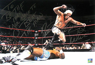 Wwe Ric Flair Signed 16X20 Inscribed Photo With Pic Proof 4