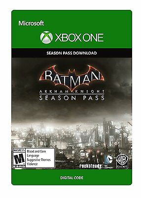 Batman Arkham Knight Xbox One Season Pass (Never used so brand new)