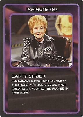 "Doctor Who MMG CCG - Episode ""Earthshock"" Card"