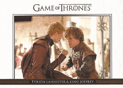 Game of Thrones Season 3 - DL20 GOLD Parallel Relationships Chase Card #032/300