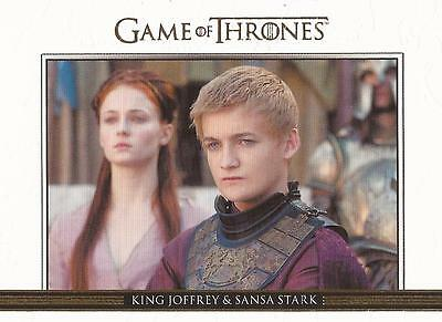 Game of Thrones Season 3 - DL5 GOLD Parallel Relationships Chase Card #238/300