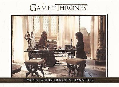 Game of Thrones Season 3 - DL1 GOLD Parallel Relationships Chase Card #037/300