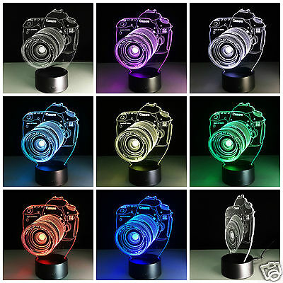 Canon EOS 60D Hologram LED Touch Sensor Table Light Wholesale Job lots 40 units