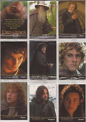 Lord of the Rings Fellowship - Sealed Cadbury's Promo Set of 20 Cards C1-20