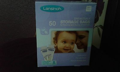 Lansinoh Breastmilk Storage Bags, New