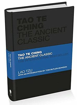 Tao Te Ching: The Ancient Classic New Hardcover Book Lao Tzu, Tom Butler-Bowdon