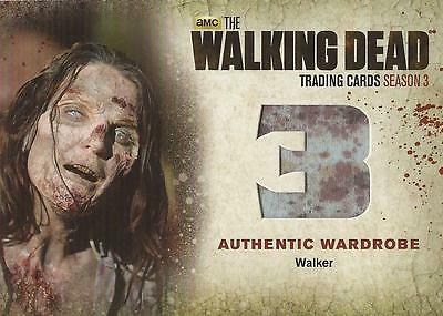"Walking Dead Season 3 Part 2 - W9 ""Walker's"" Wardrobe Card"