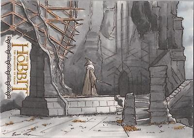 "The Hobbit Desolation of Smaug Eric Lehtonen ""Gandalf at Dol Guldur"" Sketch Card"