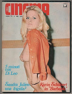 NEW CINEMA # 3 / 1973 sandra jullien karin schubert raquel welch robert hooks