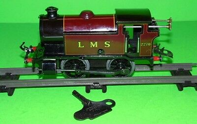 Hornby Meccano 0 Gauge Clockwork Type 101 L.m.s 2270 Train Fantastic Smooth Run
