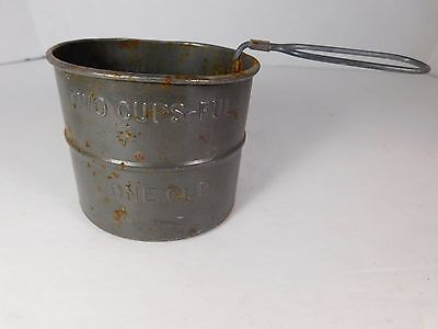 Vintage Tin 2 Cup Sifter - FREE SHIPPING