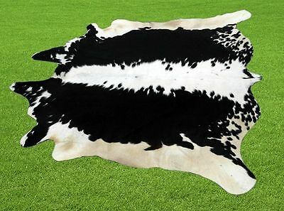 """New Cowhide Rugs Area Cow Skin Leather  (48"""" x 51"""") Cow hide LWP-9628"""