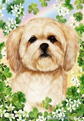 Large Indoor/Outdoor St. Patrick's Flag - Lhasa Apso 31040