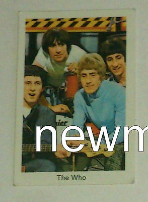60s collector card original vintage The Who