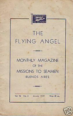 The Flying Angel Missions To Seamen Buenos Aires.jan 49