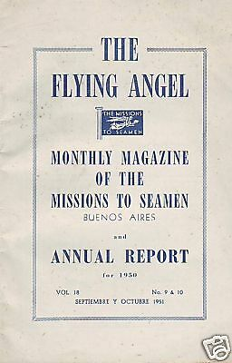 The Flying Angel Missions To Seamen Buenos Aires. 1950
