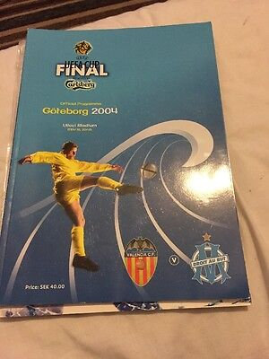 Valencia V Marseille 19th May 2004 UEFA Cup Final