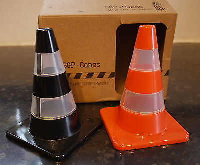 Traffic Cones Salt & Pepper Shakers by Labyrinth